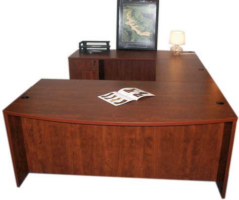 Buy Office Desk Sale 949 Bow Front U Desk No Hutch 71w X 108d Smart Buy