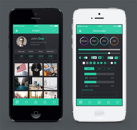 decorating apps ios 8 style mobile application ui design by rtralrayhan on