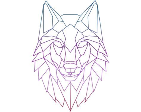 картинки по запросу geometric wolf эскизы pinterest