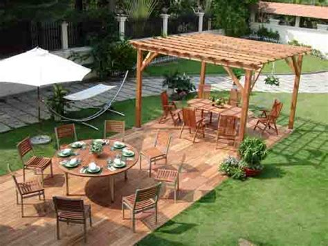 backyard shade solutions outdoor furniture design and ideas