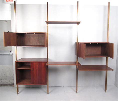 Mid Century Modern Teak Omnia Modular Wall Unit By George Modern Furniture Wall Units