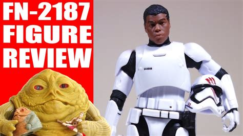 Wars The Black Series Finn Fn 2188 tfa stormtrooper finn fn 2187 6 quot black series figure review