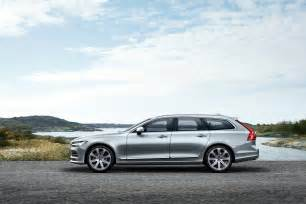Volvo Wagons 2016 Volvo V90 Wagon Officially Revealed In Sweden