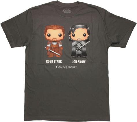T Shirt Kaos Overwatch of thrones robb jon t shirt sheer