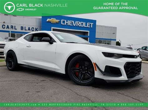 2019 The All Chevy Camaro by New 2019 Chevrolet Camaro Zl1 2dr Car In Nashville