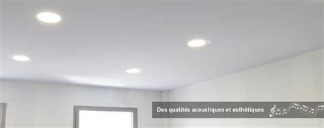 toile acoustique pour plafonds tendus acoustiques en