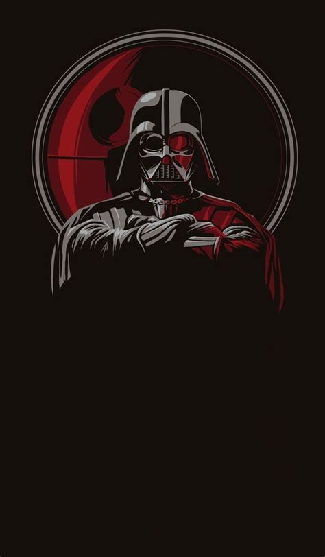 darth vader iphone wallpaper darth vader phone wallpaper phone wallpapers pinterest
