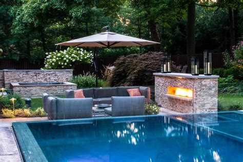 pool and patio decor the outdoor living room stylish ideas for pools