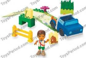 Dijamin Original Lego Duplo Lime Truck With Green Base And Veg lego 7331 diego s rescue truck set parts inventory and