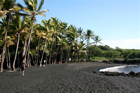 black sand beach hawaii file punaluu black sand beach hawaii usa7 jpg