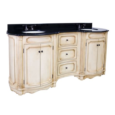 Antique White Double Vanity Be Antique White Double Bathroom Vanity Top Amp Sinks