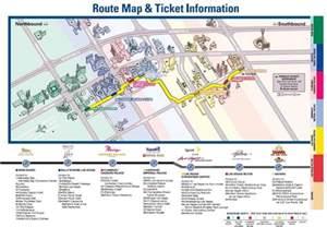 Las Vegas Tram Map by Las Vegas Tram System Images Frompo 1