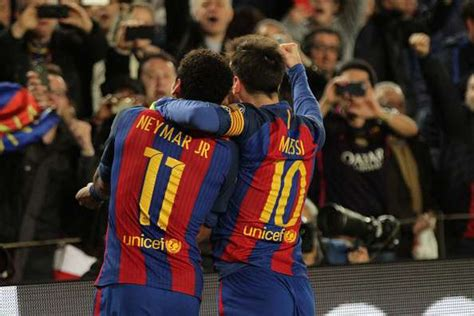 neymar leaves barcelona without its heir to lionel messi all rise for prince neymar the imperfect heir to messi s