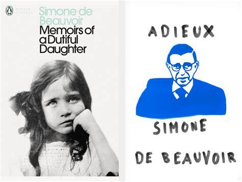 memoirs of a dutiful national museum of women in the arts via public what did simone de beauvoir write