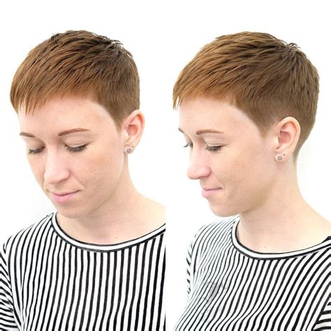 pixie cut directions instructions for pixie haircut women s copper textured and