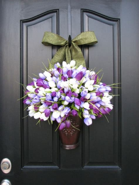 diy door ornaments 80 fabulous easter decorations you can make yourself