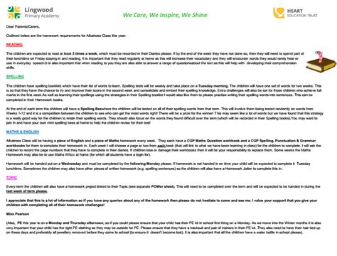 Complaint Letter Year 6 year 6 lingwood primary academy