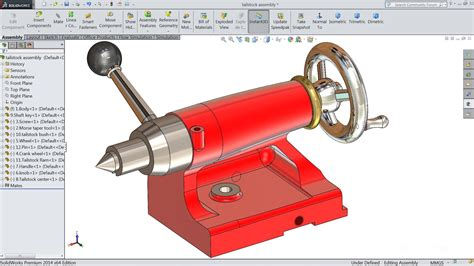 solidworks tutorial top down design solidworks tutorial i sketch tailstock in solidworks