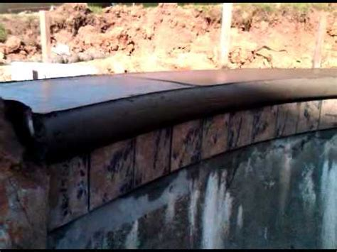 pool coping cantilever  concrete  youtube