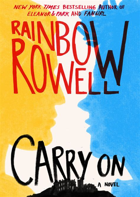 libro carry on portada revelada carry on de rainbow rowell mi mundo entre libros