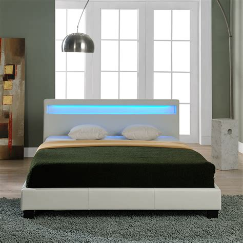 Bett 100 X 180 by Led Upholstered Bed 140 160 180 200x200 Cm Bed