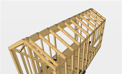 Tiny House For 5 roof ridge beam sizing for an 8 6 quot x 20 tiny house
