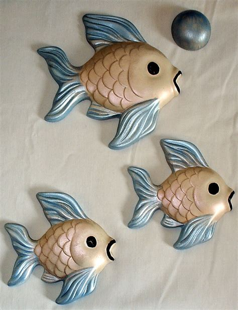 bathroom ornaments fish 1960 s vintage ceramic fish bathroom decor