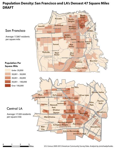 san francisco koreatown map l a vs s f how does transportation really compare