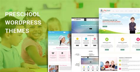 themes of education for leisure preschool wordpress themes for preschool playgroup