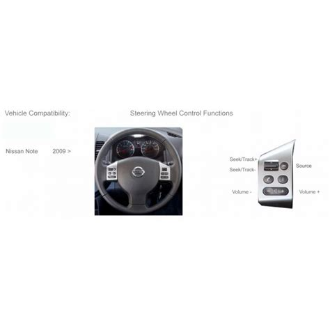 volante nissan note ctsns004 2 interface mandos volante para nissan note tiida