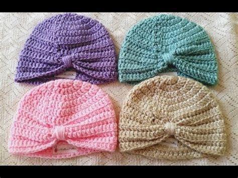 tutorial buat turban baby tutorial http thismamamakesstuff com crochet baby