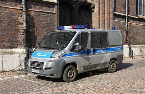 polizei wagen fiat quot gefangenen wagen quot der polnischen polizei hier am 3 6