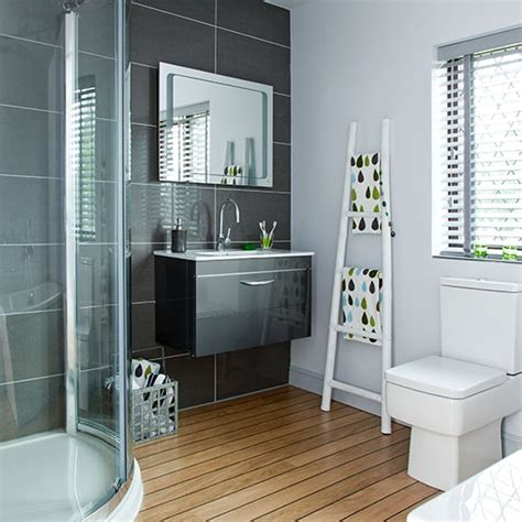 charcoal bathroom modern charcoal and white bathroom decorating
