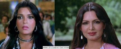 parveen babi zeenat aman sholay redux 01 leela mishra aka mausi film ka ilm