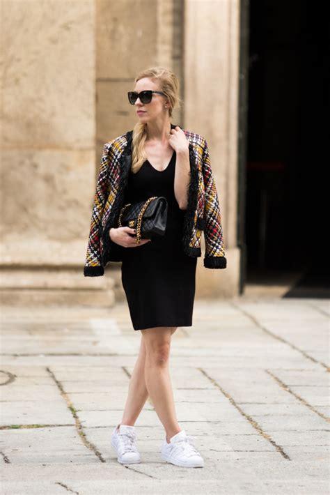 Mellan Fashion Adidas Turquise milan fashion week ss17 statement jacket aigner show meagan s moda