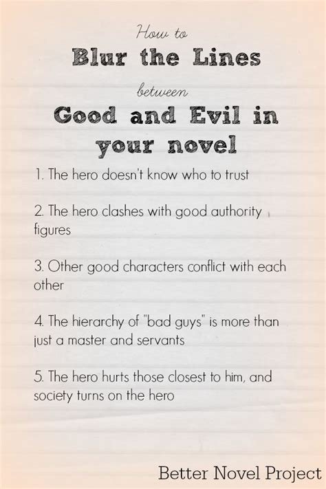 meaningful themes for stories the case for blurring the lines between good and evil