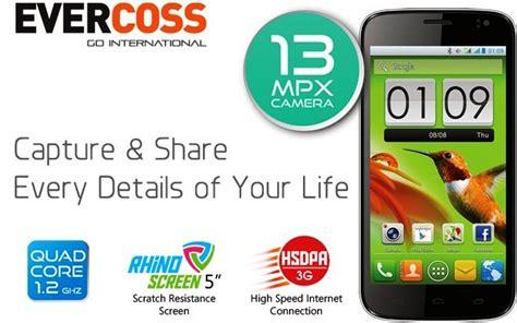 Evercoss N2 2 4 Dual Sim Gsm Hitam 2013 spesifikasi dan harga smartphone terbaru