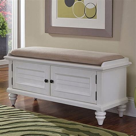 hallway storage bench white 17 best ideas about white storage bench on pinterest