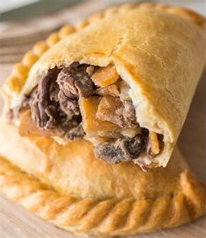 Handmade Cornish Pasties - traditional cornish pasty uncooked the large 10oz beef