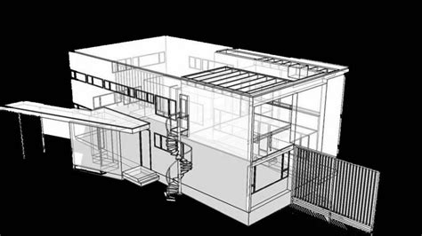 computer rendering the gropius house 1937 lincoln