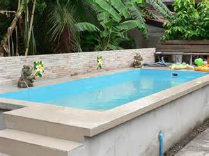 Above Ground Backyard Pools Ordinary Above Ground Swimming Pools Marvellous Rectangle Above Ground Pool Kits Pools
