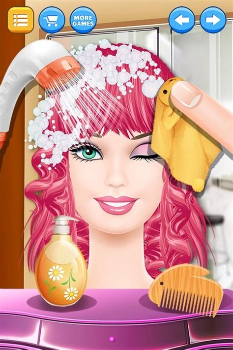 fashion doll hair spa apk  educational android game