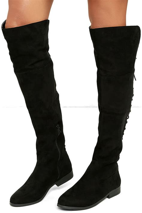 suede otk boots lfl ramsey boots black suede boots lace up boots otk