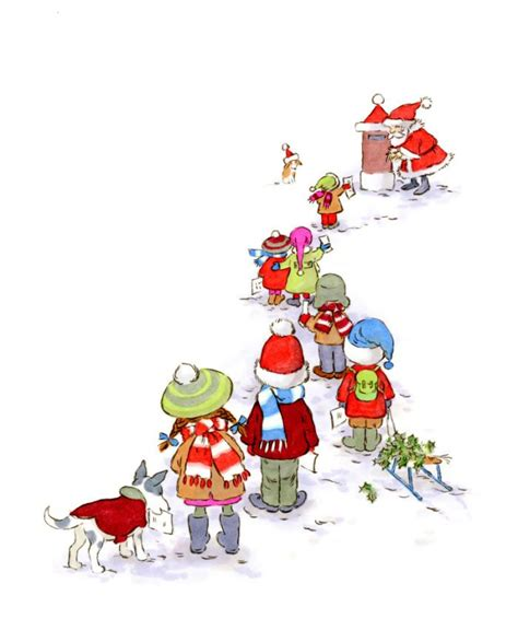 724 best images about christmas illustrations on pinterest