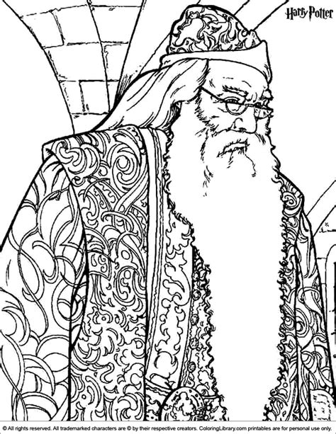 Harry Potter coloring page | Coloring pages