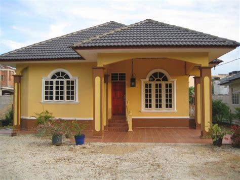 desain rumah sederhana  kampung  terlihat cantik  inilah cat rumah kampung