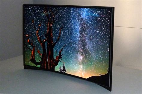 Tv Samsung Oled The Samsung 55in Curved Oled Tv Pictures