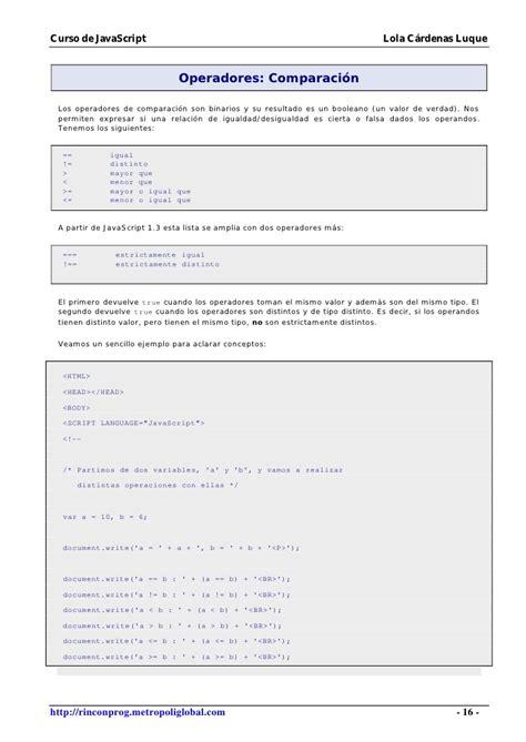 tutorial javascript slideshow manual tutorial javascript con ejemplos