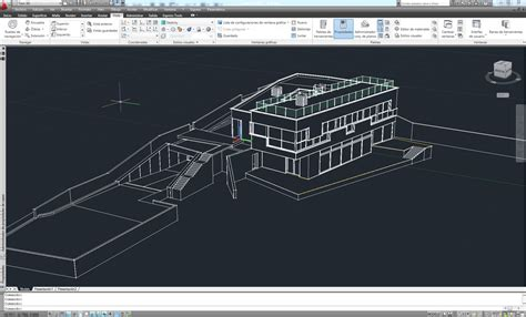 autocad 2007 tutorial 3d modeling making of house k by toni fresnedo 3d architectural