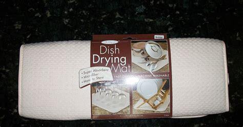Dish Drying Mat Reviews the multi influenster the original dish drying mat